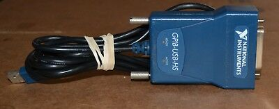 National Instruments GPIB-USB-HS Interface Cable IEE488, USB, GOOD