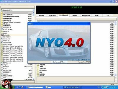 NEW 2017 NYO4 full VERSION SOFTWARE Immo-Odometer-Radio-ECU-AIRBAG