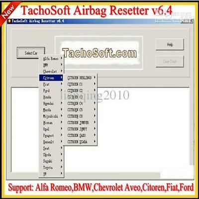 THE BEST 5 Software PROGRAMS FOR MOST AIRBAG SRS Crash Data-Remove Delete Reset