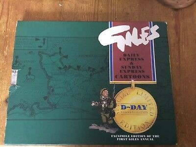 Giles Cartoon Book  1946 Number one repro Limited special edition d-day
