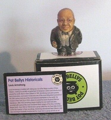 Pot Bellys Louis Armstrong Harmony Kingdom Ball Pot Bellys Historical