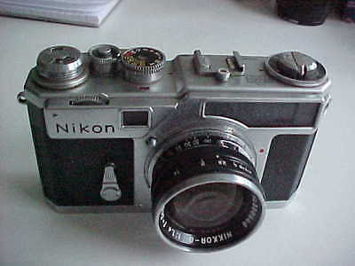 Nikon SP rangefinder camera with 5cm f1.4 lens