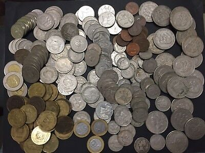 Dominican Republic Assorted Coin Lot. Dominicana Over 200 Coins