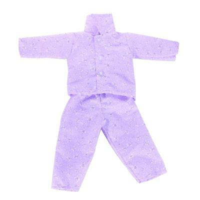 Dolls Pajamas Sleepwear Clothes Fit 18'' Our Generation American Girl Doll#H