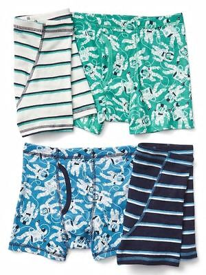 New Gap Kids 4 Pack Boxer Briefs Underwear 6 7  8 10 14 NWT 4 Pairs Batman Super
