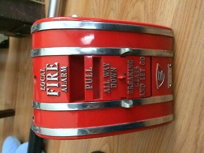 Edwards System Local Fire Alarm Pull Station