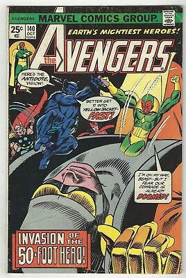 Avengers 140! Vg- 3.5! Cool Bronze Age Marvel Comic Book!