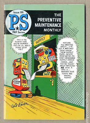 PS The Preventive Maintenance Monthly #199 1969 VG/FN 5.0
