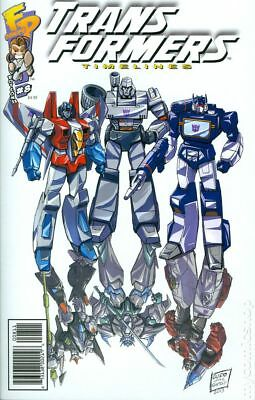 Transformers Timelines #8 2013 VF 8.0 Stock Image