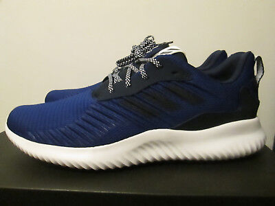 promo code f25be a1bb7 Adidas AlphaBounce RC M Navy Blue Lightweight Running Performance Shoes 12  NEW