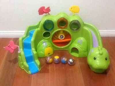 Fisher Price Roll a Round Drop and Roar Dinosaur