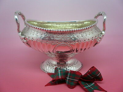 Silver Sugar Bowl, Sterling, Antique, Hallmarked 1777, Thomas Evans.