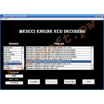 Meucci New Version  Ecu Software For Immo Disable-Unlock For Cars,bikes&trucks