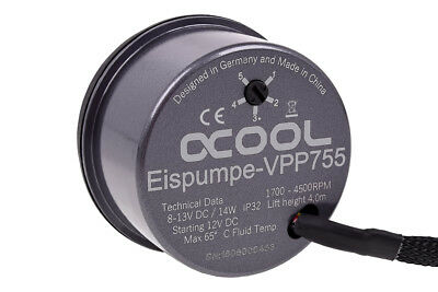 AlphaCool Eispumpe VPP755 - Single Edition, Pumpe, grau