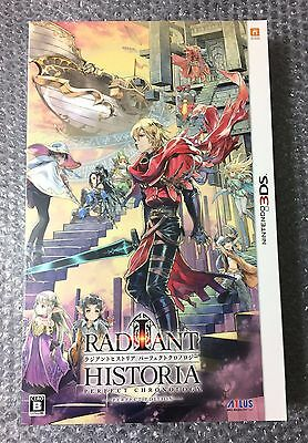 NEW Nintendo 3DS Radiant Historia Perfect Chronology PERFECT EDITION JAPAN game