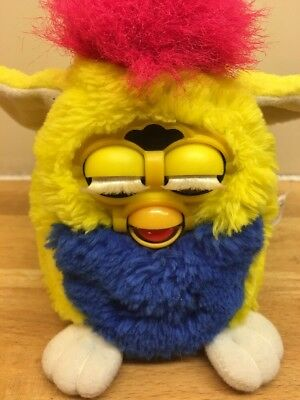 Tiger Electronics 1999 Vintage Furby Toy Interactive Talks Moves Small Baby Vgc