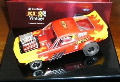 Original-Box für Ford Mustang Hot Rod von SCX Vintage 61480 Limited Edition, NEU