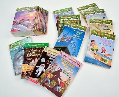 Magic Tree House Books, Collection of 19, Soft Cover,  by Mary Pope Osborne