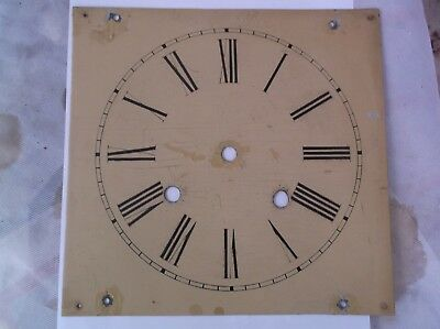 A Face  From A Very Old  Weight Driven  Wall Clock