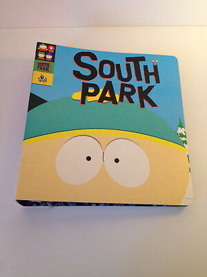 SOUTH PARK OFFICIAL STYLE GUIDE BINDER & 3 CDs 1998 COMEDY CENTRAL NEAR MINT!