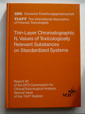 Thin-Layer Chromatographic R f Values of Toxicologically Relevant Substances