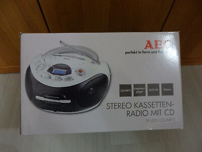 AEG Stereo Kasetten-Radio SR 4353 CD/MP3