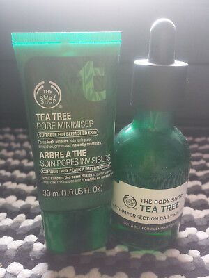 The Body Shop Tea Tree Pore Minimiser Primer + Anti Imperfections Serum