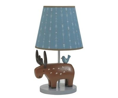 New Lambs & Ivy Lamp & Shade Tippy Canoe Collection Baby Infant Nursery Unisex