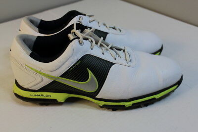 Nike Lunarlon Flywire Golf Shoes 418471-106 Men Size 10