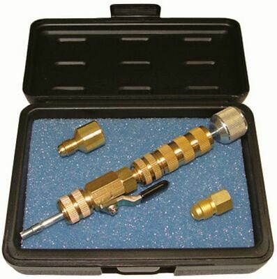 Schrader Valve Tools, Valve Core Remover/ Mounting, Incl. for R410A