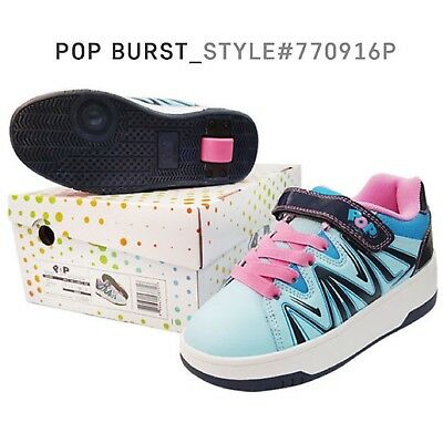 Heelys Pop Kids Boys Girls Roller Skate Shoes Pop By Heelys Burst 770916P