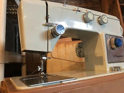BEAUTIFUL VINTAGE HEAVY Duty Signature Leather Sewing Machine Inspiration Heavy Duty Leather Sewing Machine