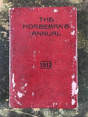 1912 Horseman`s Annual Magnus Flaws & Co Useful Info for Every Horse Owner