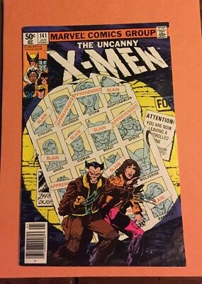 Uncanny X-Men 141 VF+ Marvel Comics Day's Of Future Past - Movie - Key Issue
