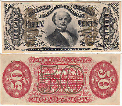 50 Cent 3rd Issue Fractional Currency F-1324 Gem Crisp Uncirculated