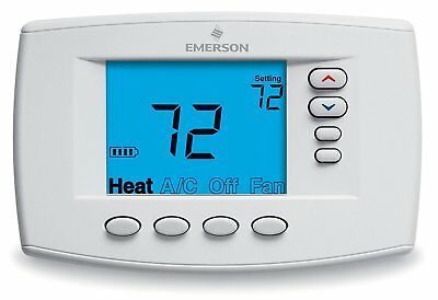 White-Rodgers Emerson Blue Easy Reader Thermostat - 1F95EZ-0671 fast free ship