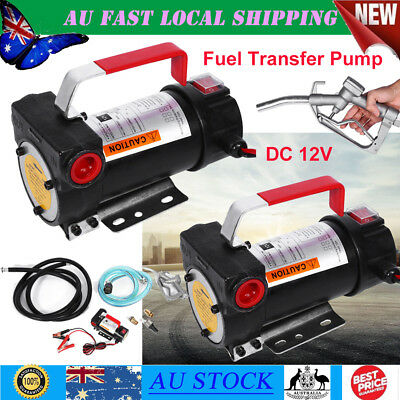 DC 12V Auto Oil Transfer Pump Diesel Electric Commercial Bowser Bio-Diesel Fuel