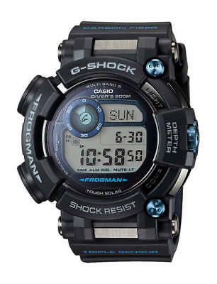 CASIO G-Shock FROGMAN GWFD1000B-1A GWF-D1000B-1A Ion Plated Depth Sensor !
