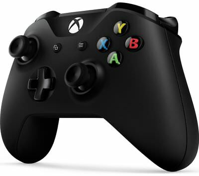 MICROSOFT Xbox One Wireless Gamepad Black Bluetooth 3.5 mm jack BOX DAMAGED