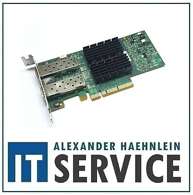 Mellanox ConnectX-3 PCIe x8 NIC 10 Gigabit 10GBe SFP+ Dual Port Server 98Y2404