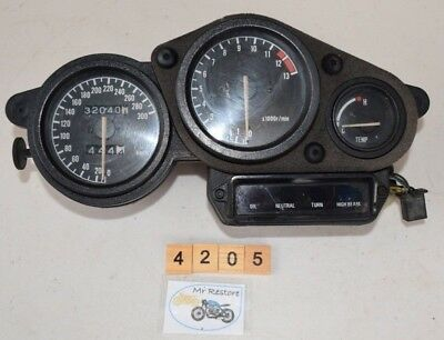 Yamaha FZR1000 EXUP J2-27 Instrument Cluster Dashboard With Loom