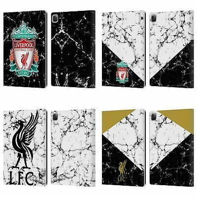 LIVERPOOL FC LFC 2017/18 MARBLE PU LEATHER BOOK WALLET CASE COVER FOR APPLE iPAD