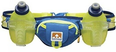 Nathan Trail Mix Hydration Belt - Nathan Blue, One Size