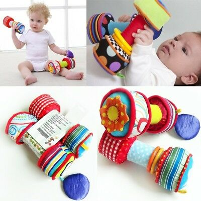 26cm / 10in Baby Kid Child Taggies Jingle Rattles Soft Plush Owl Stroller Toy