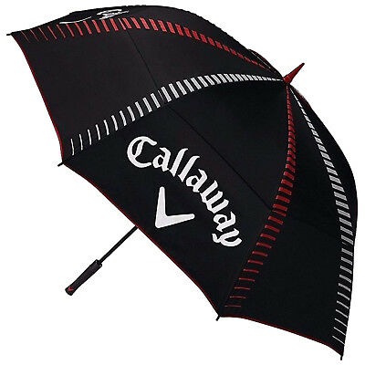 "2017 Callaway Golf 68"" Tour Authentic Double Canopy Umbrella - New Tour Brolly"