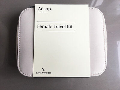 CATHAY PACIFIC First Class AESOP Female Amenity Kit Kulturbeutel Kosmetiktasche