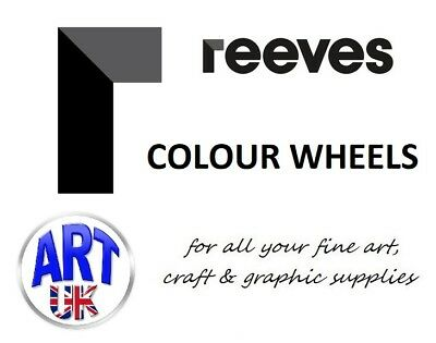 Reeves Artists COLOUR WHEELS Tool Paint Mixing Guide student designers