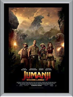 Jumanji  - Welcome to the Jungle A1 To A4 Size Poster Prints