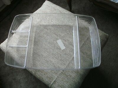 Longaberger Divided 5 Way Serving Tray Protector #40754 Brand New Free Ship