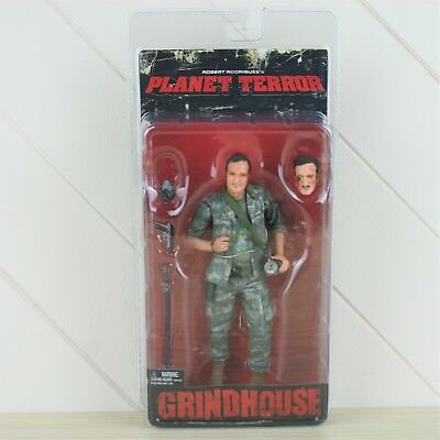 """NECA Grindhouse Planet Terror Quentin Tarantino as No.1 7"""" Action Figure NEW"""